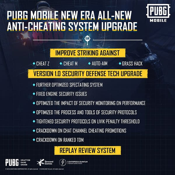 A look at the new security plans moving forward, courtesy of Tencent Games.