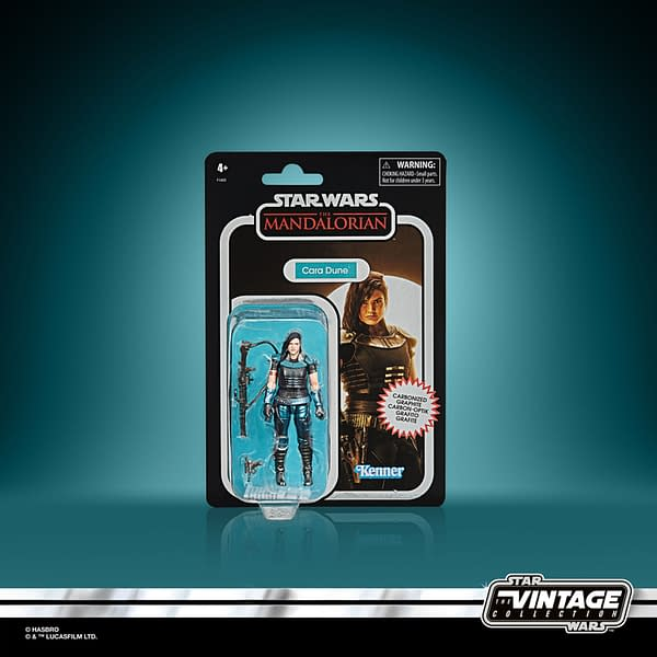 New The Mandalorian Carbonized Vintage Collection Figures Coming