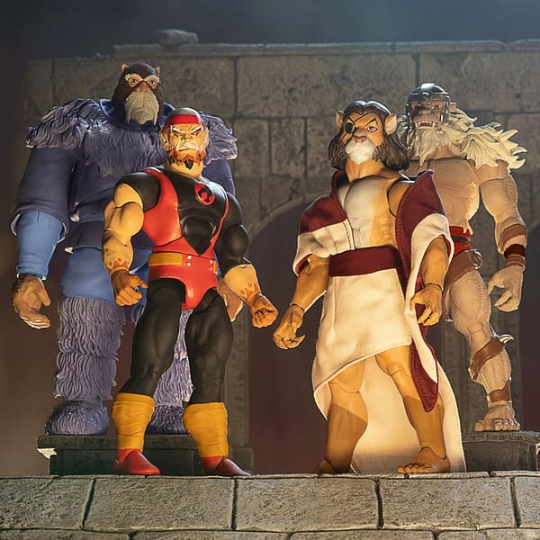 Super7 Reveals New Thundercats Ultimates Wave, Up For Preorder Noe