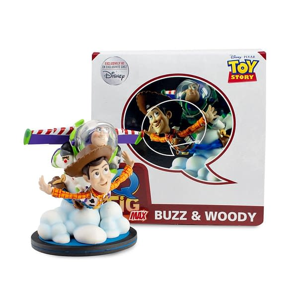 Toy Story Gets a 25th Anniversary Q-Fig Max Figure