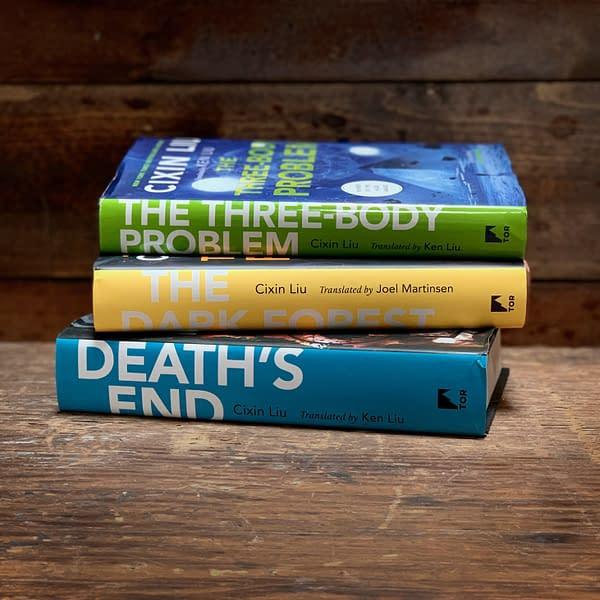 "Netflix will adapt ""The Three-Body Problem"" trilogy (Image: Netflix)"