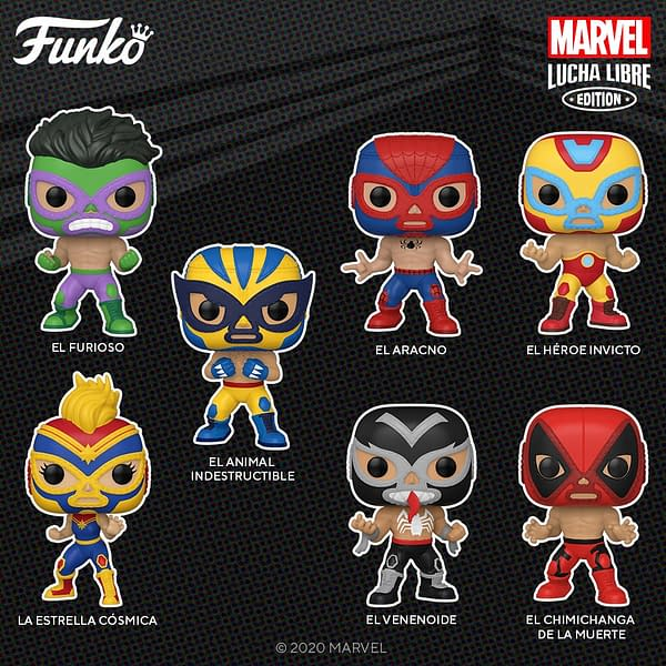Funko Announces Marvel: Lucha Libre Funko Pops