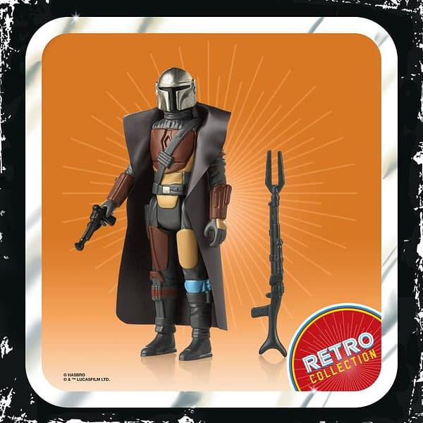 Retro The Mandalorian Figures Unveiled by Hasbro for Mando Monday