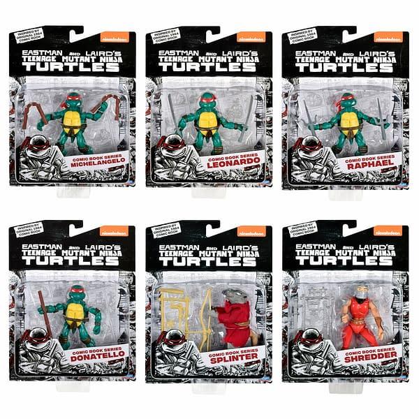 TMNT Gets Exclusive Original Comic Book Deco Bundle from Playmates