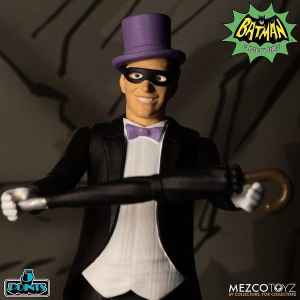 Batman 1966 is Back with Mezco Toyz 5 Points Boxed Set