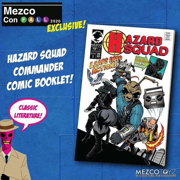 Hazard Squad Gomez Reports for Duty as Mezco Toyz Exclusive