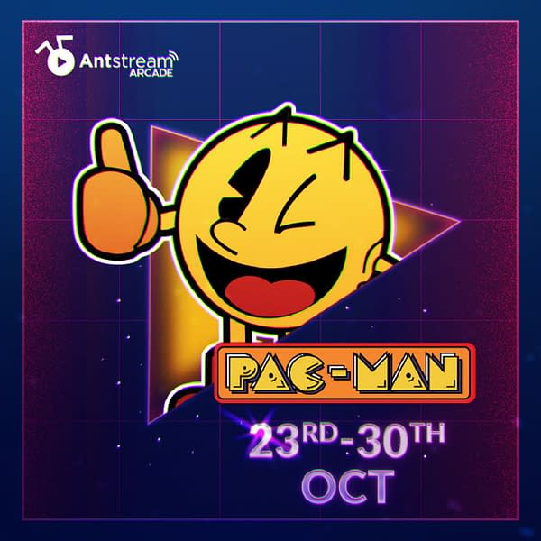 Can you beat the best of the best at Pac-Man? Courtesy of Antstream Arcade.