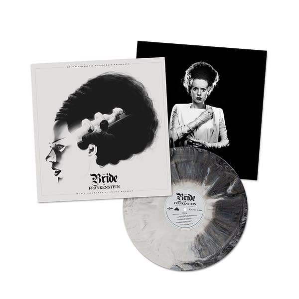 Bride Of Frankenstein Vinyl, Figure Debut From Waxwork Records
