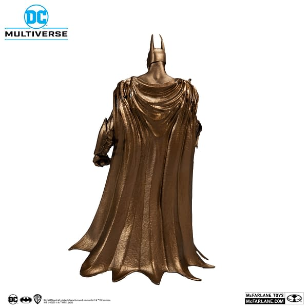 Batman Goes Bronze with DC Multiverse from McFarlane Toys