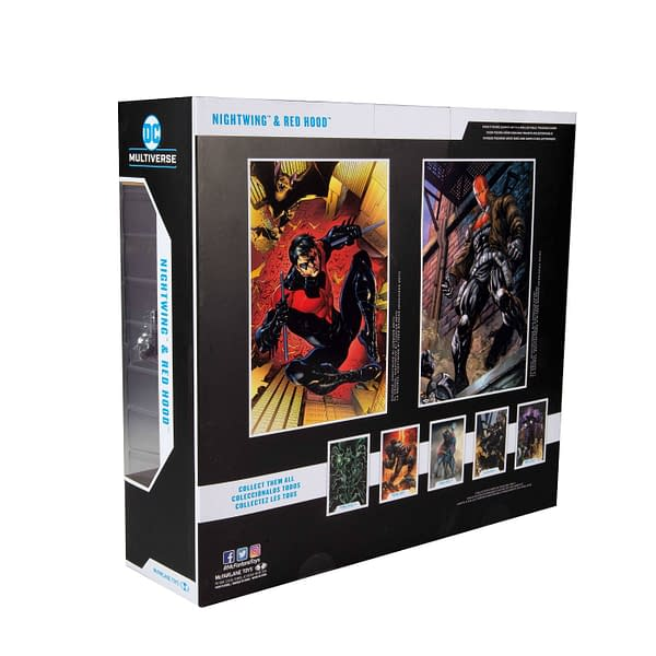 Red Hood and Nightwing McFarlane Toys 2-Pack Finally Arrives