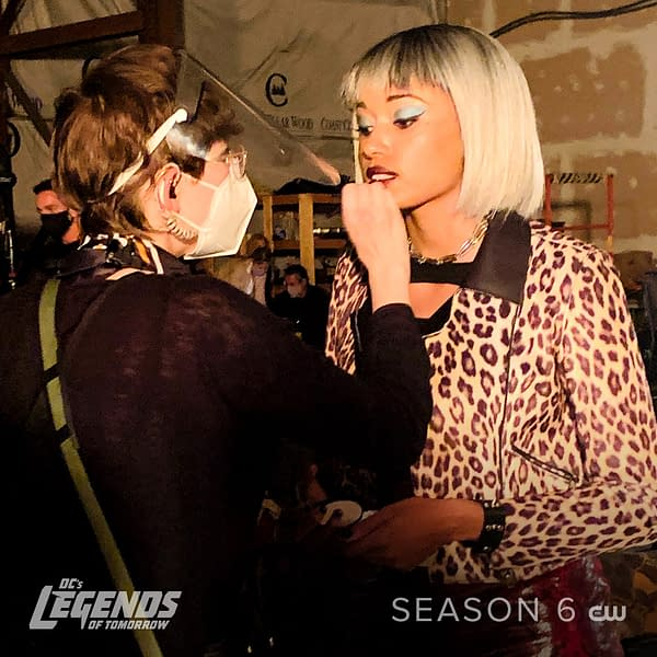 Legends of Tomorrow is back to work on season six. (Image: The CW)