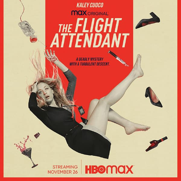 The Flight Attendant key art (Image: HBO Max)