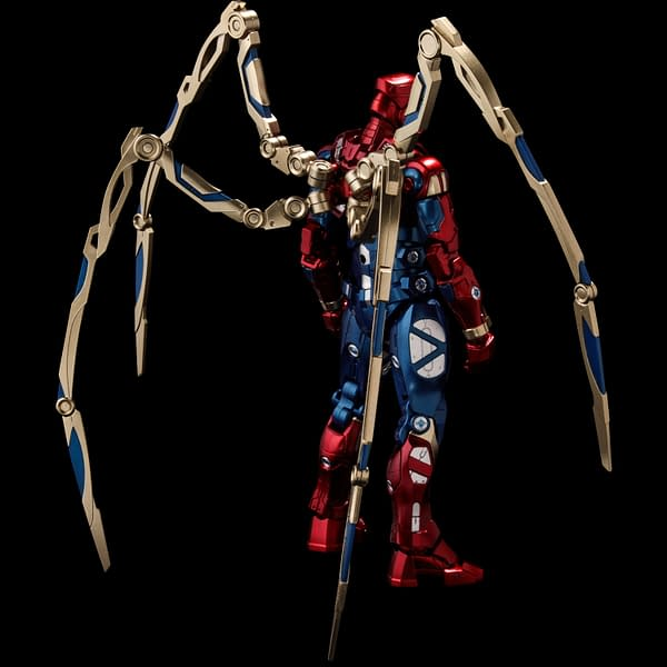 Spider-Man Becomes Joins Sentinel's Fighting Armor Figure Line
