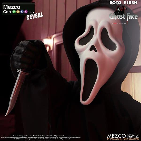 Mezco Con Recap - Day 2 Reveals Include Dr. Fate, Scream, and More