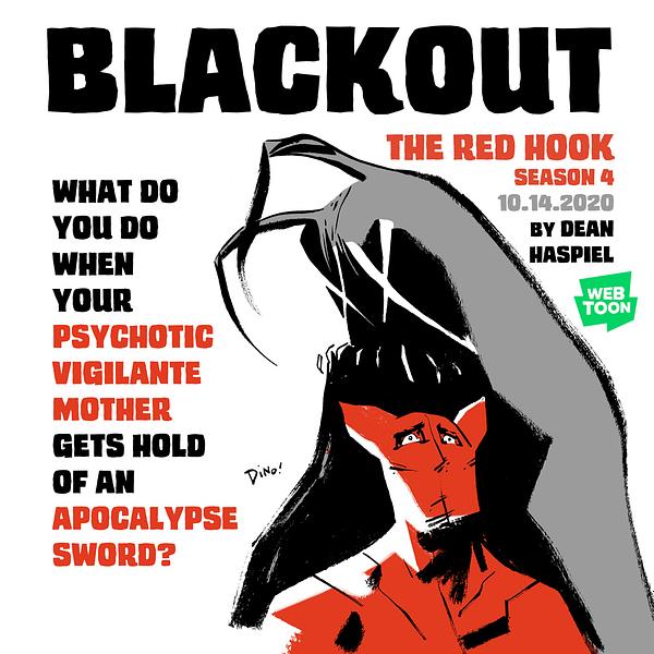 The Red Hook season 4 published at Webtoon.