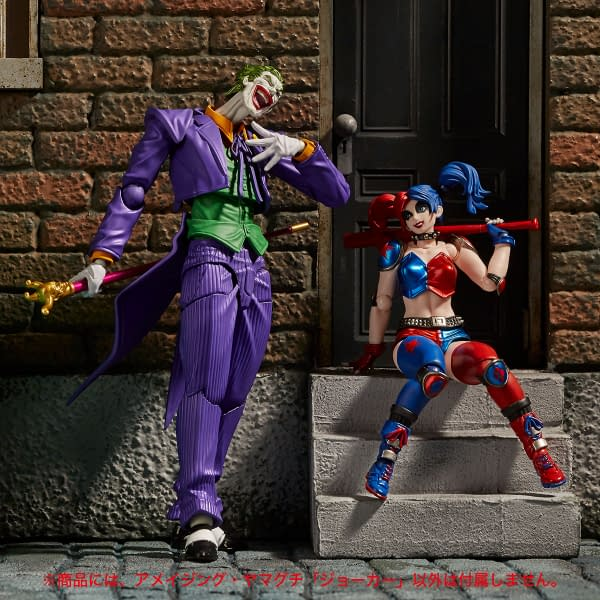 The Joker Gets His Own Revoltech Figure From Kaiyodo