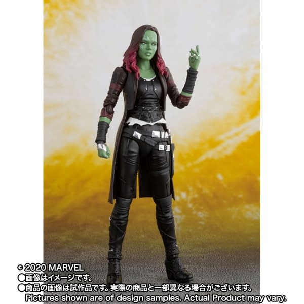 Guardians of the Galaxy Gamora Joins S.H. Figures Marvel