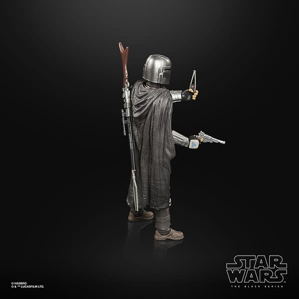 New The Mandalorian Star Wars Black Series Figures Unveiled by Hasbro