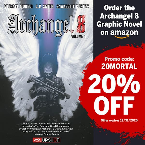 AWA Studios Offering Upshot Graphic Novels Discount on Amazon