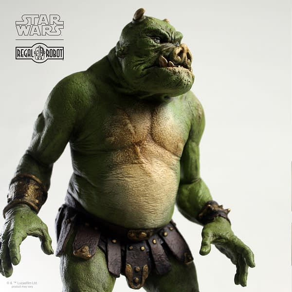 The Mandalorian Gamorrean Fighter Statue Coming from Regal Robot