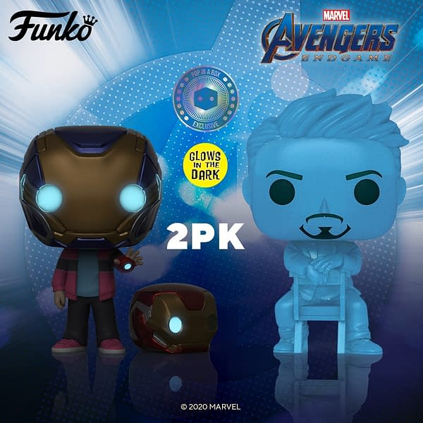 Funko Unveils New Avengers: Endgame 2-Pack That We Love 3000