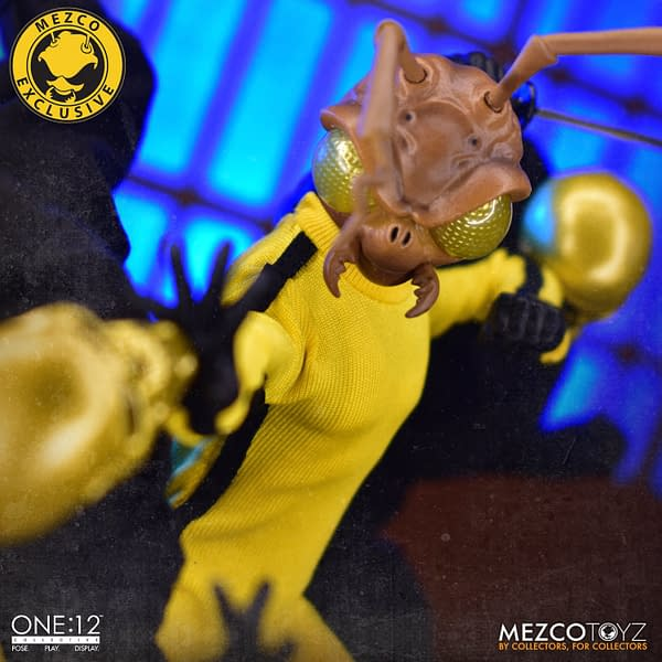 Gomez of Death Mysteriously Drops Online From Mezco Toyz