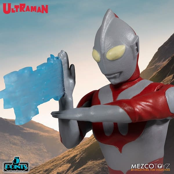 Ultraman Takes on the Red King With Mezco Toyz