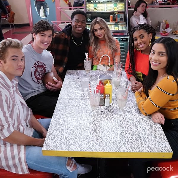 Saved by the Bell: Peacock Shares Two New Images from Sequel Series