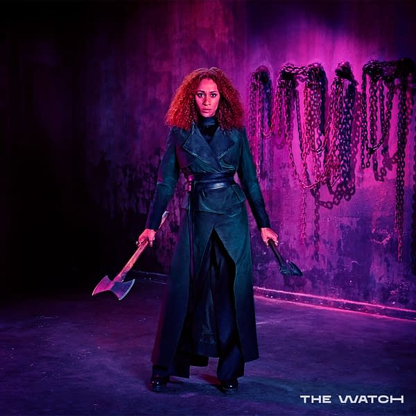 The Watch previews its cast (Image: BBC America)
