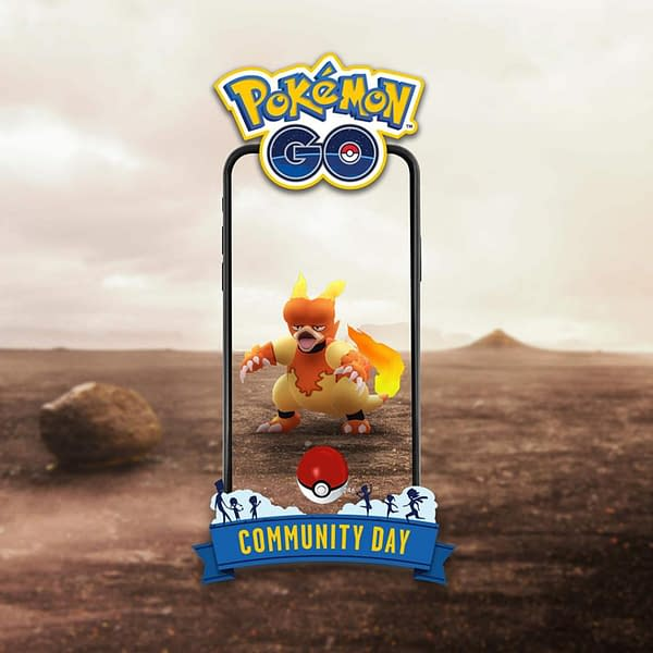 Magmar Community Day promo for Pokémon GO. Credit: Niantic