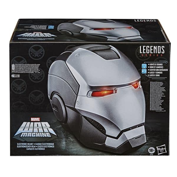Become War Machine with New Marvel Legends Replica Helmet