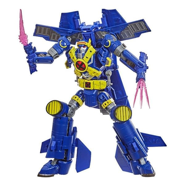 X-Men and Transformers Unite to Create Ultimate X-Spanse Autobot