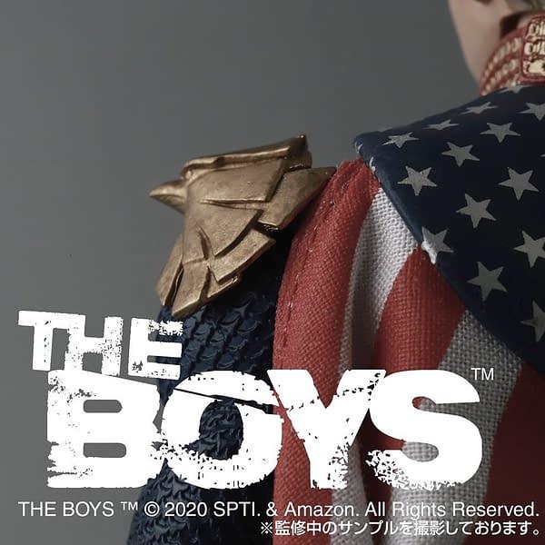 Medicom Teases The Boys MAFEX Figures With Homelander Teaser