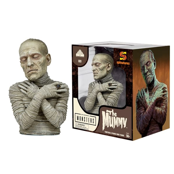 The Mummy Is The Latest Revealed Spinatures Figure From Waxwork