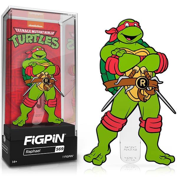 The Teenage Mutant Ninja Turtles Get Animated with FiGPiN