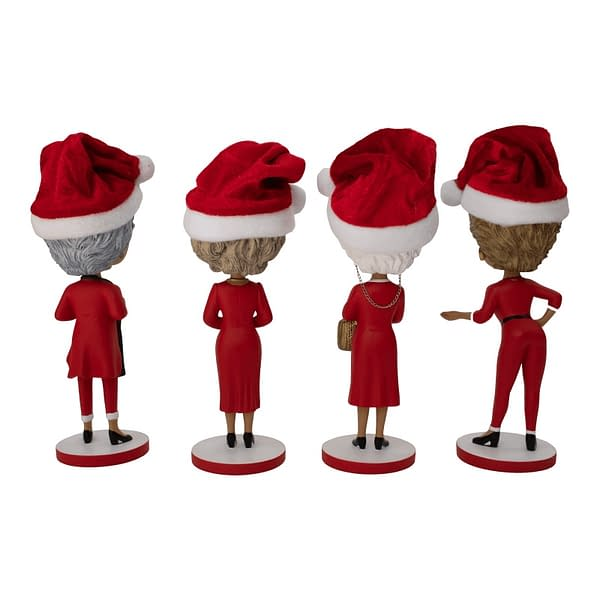 The Golden Girls Get Festive with New Bobbles from Icon Heroes