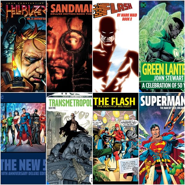 More DC Comics Big Books, Deluxes and Omnibuses Up to August 2021