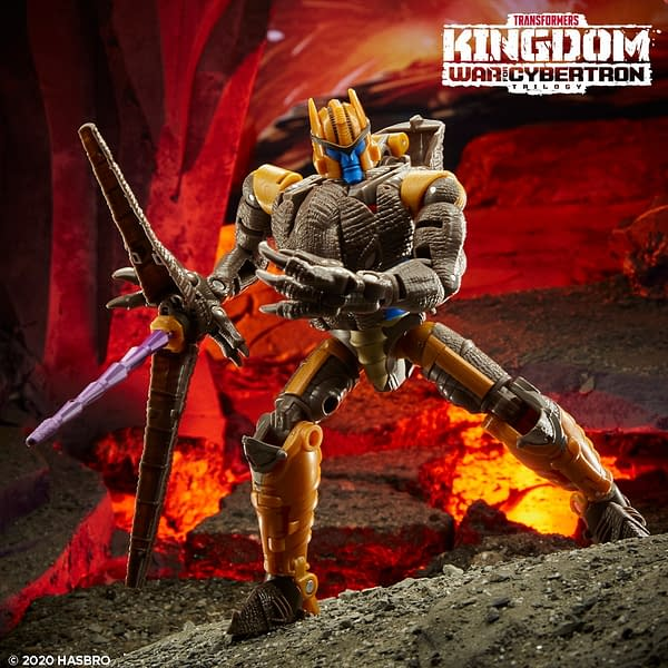 New Transformers War For Cybertron Kingdom Figures Revealed
