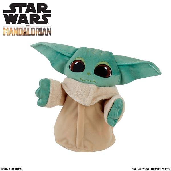 The Mandalorian Grogu Gets New Hideaway Hover-Pram Plush from Hasbro