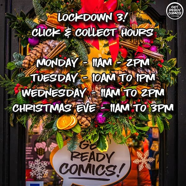 When You Are A Comic Shop In Tier 4 Lockdown - London and the South East