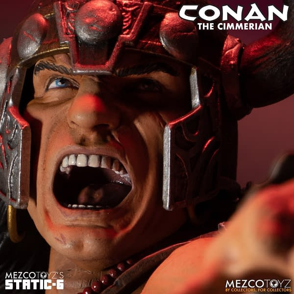 Conan the Barbarian Is the First Static Six Statue From Mezco Toyz