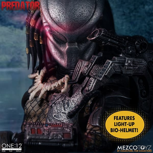 The Predator Hunt Begins With One: 12 Collective From Mezco Toyz
