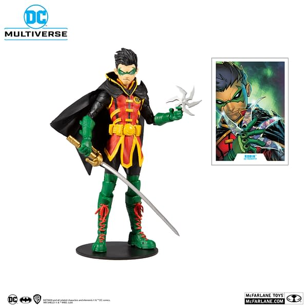 New Superman and Robin Figures Incoming from McFarlane Toys