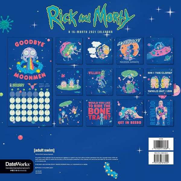 Rick and Morty: The 12 Days of Rickmas Day #4: So About Those Stickers