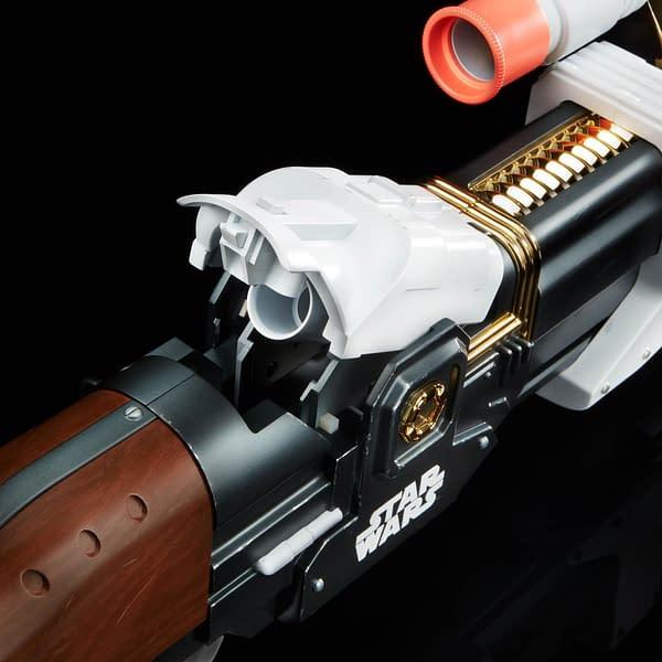 The Mandalorian Ambam Phase-Pulse Blaster Joins NERF