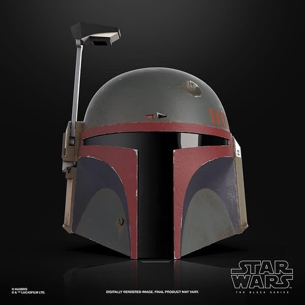 Boba Fett Black Series Re-Armored Helmet Unveiled by Hasbro