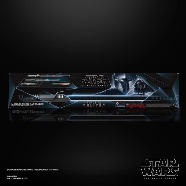 The Mandalorian Darksaber Force FX Lightsaber Revealed by Hasbro
