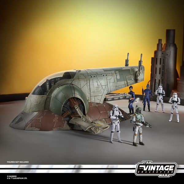Star Wars Vintage Collection Slave I Gets Re-Release from Hasbro