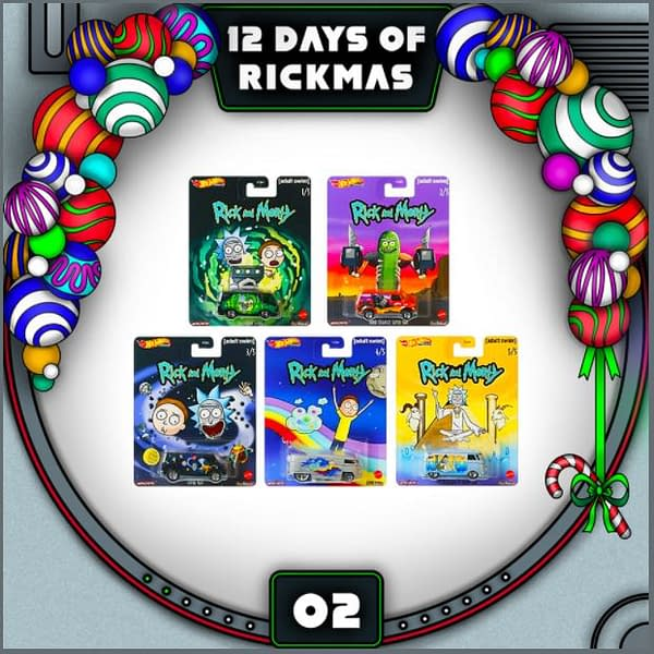 """Rick and Morty: """"The 12 Days of Rickmas"""" Day #2 Goes 2 Fart 2 Furious"""