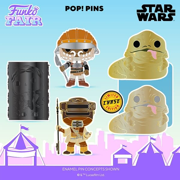 Funko Fair Star Wars Reveals - Return of the Jedi Pop Pins